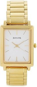 Sonata NG7078YM01C Watch - For Men