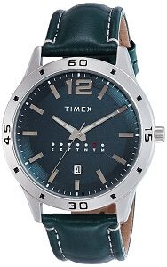 Timex Analog Blue Dial Men's Watch-TW000U931