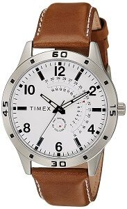 Timex Analog White Dial Men's Watch-TW000U927