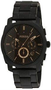 Fossil Machine Chronograph Black Dial Men's Watch - FS4682