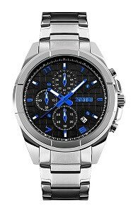 Skmei Chronograph Black Dial Men's Watch - 9109