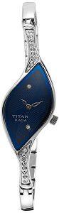 Titan Analog Blue Dial Women's Watch -NK9710SM01