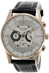 Titan Octane Chronograph Multi-Color Dial Men's Watch - NK9322WL01