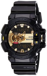 Casio G-Shock Analog-Digital Black Dial Men's Watch - GBA-400-1A9DR