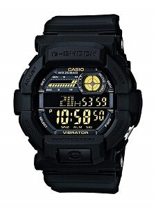 Casio G-Shock Digital Black Dial Men's Watch - GD-350-1BDR