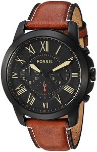 Fossil Chronograph Black Dial Men's Watch - FS5241