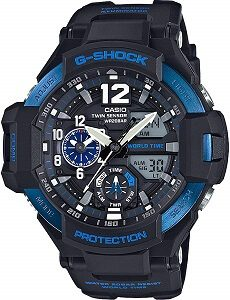 G-Shock Analog-Digital Black Dial Men's Watch - GA-1100-2BDR