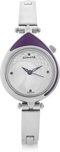 Sonata 8119SM01C Sona Sitara Watch - For Women
