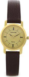 Sonata 87018YL01C Watch - For Women