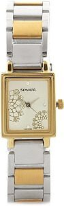 Sonata NG8080BM01C Wedding Watch - For Women