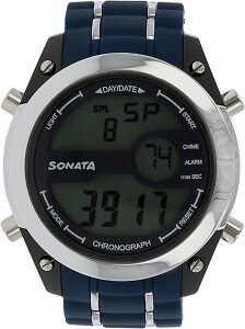 Sonata NH77034PP03 Watch - For Men