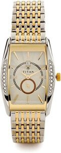 Titan NC1527BM02 Ssteele Collection Watch - For Men