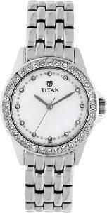 Titan NE9798SM02 Purple Watch - For Women