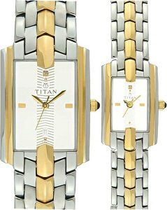Titan NH19262926BM01 Bandhan Watch - For Couple