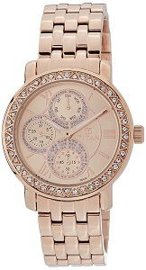 Titan Purple - Glam Gold Analog Pink Dial Women's Watch -NK9743WM01