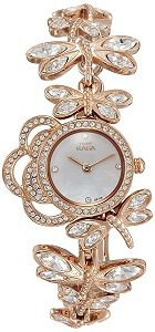 Titan Raga Analog Mother of Pearl Dial Women's Watch - 95011WM02J