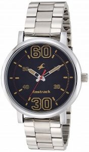 Fastrack Fundamentals Analog Black Dial Men's Watch - 38052SM02