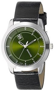 Sonata Analog Green Dial Men's Watch NK7924SL09