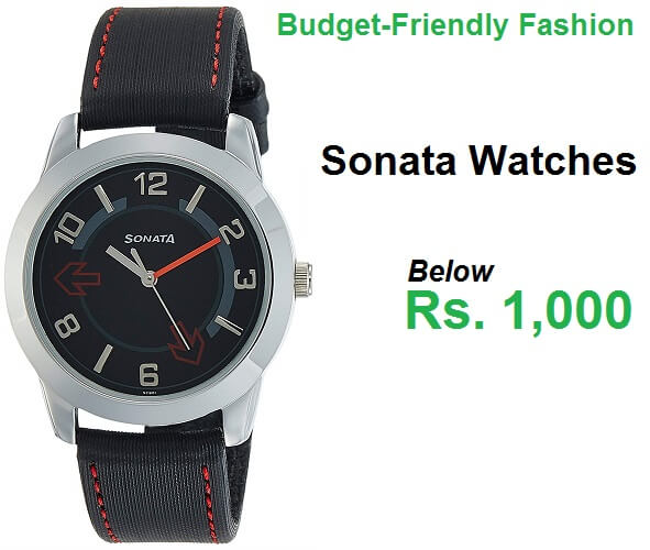 1efd8a96d2e Sonata Watches Price List Below 1000 Rupees in India (May 2019)