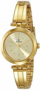 Titan Analog Beige Dial Women's Watch-2574YM01