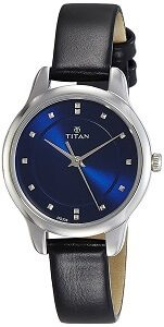 Titan Ladies Neo-Ii Analog Blue Dial Women's Watch-NK2481SL08