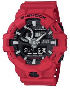 Casio G-Shock Analog-Digital Black Dial Men's Watch - GA-700-4ADR