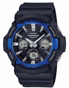 Casio G-Shock Analog-Digital Black Dial Men's Watch-GAS-100B-1A2DR