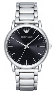 Emporio Armani Analog Black Dial Men's Watch - AR2499