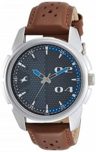 Fastrack Loopholes Analog Grey Dial Men's Watch-3124SL06
