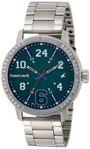 Fastrack Varsity Analog Silver Dial Men's Watch-3178SM01