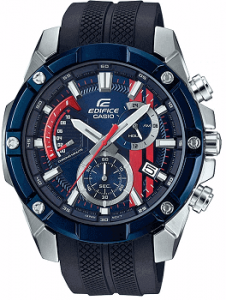 Casio Edifice Analog Blue Dial Men's Watch-EFR-559TRP-2ADR