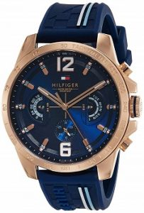 Tommy Hilfiger Analog Blue Dial Men's Watch-TH1791474