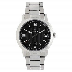 Titan Neo NK1730SM02 Analog Black Dial Men's Watch