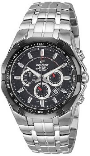 a4e63da7b Casio Edifice Tachymeter Chronograph Black Dial Men's Watch – EF540D-1AVDF